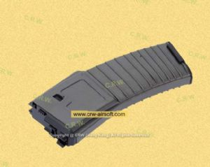 30rd GAS Magazine for PDW Open Bolt Ver GBB (Grey) by WE